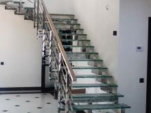 Лестница из нержавейки 4