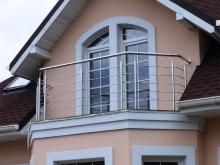 Ограждения для балконов из нержавейки 9