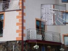 Ограждения для балконов из нержавейки 8