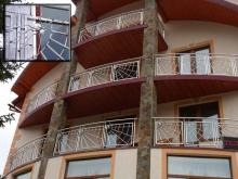 Ограждения для балконов из нержавейки 5