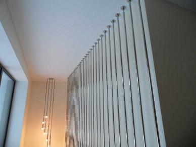 Ограждение на лестницу из нержавейки-2