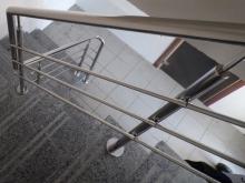 перила для лестниц из нержавейки 6