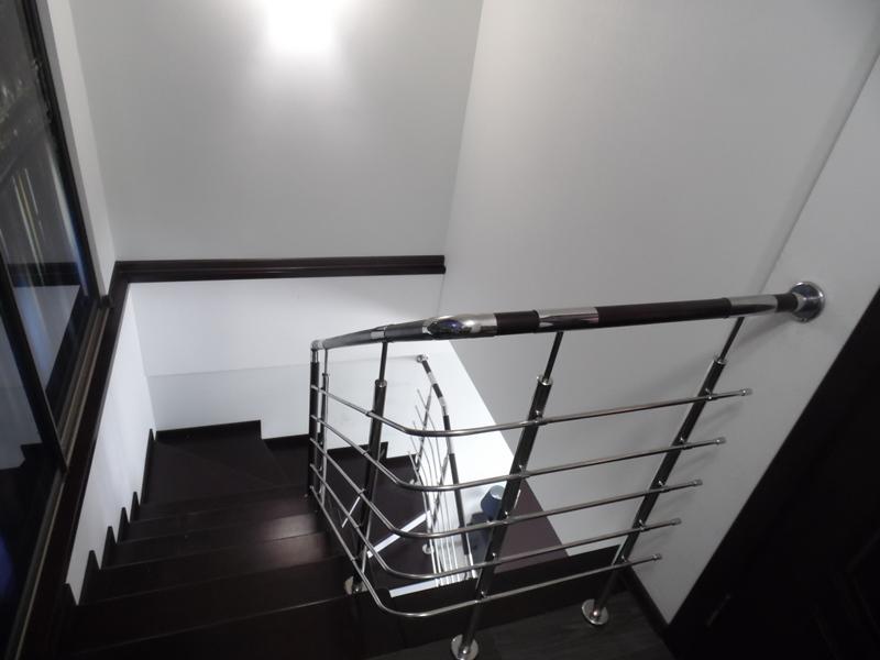 перила для лестниц из нержавейки 22