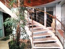 Перила из нержавейки для винтовых лестниц 3