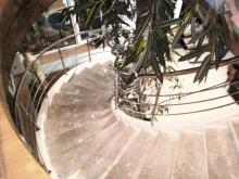 Перила из нержавейки для винтовых лестниц 6