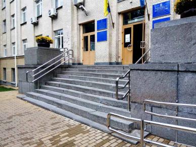 Ограждения из нержавейки Киев НМУ (1)