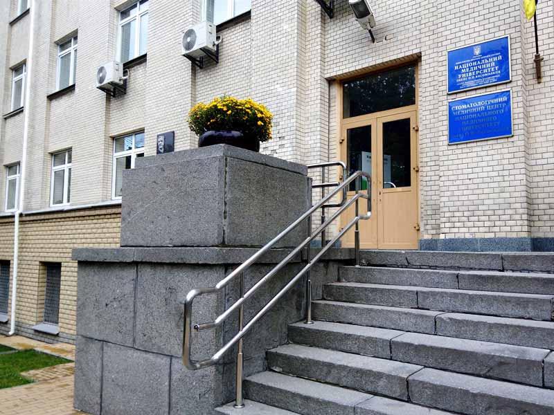 Ограждения из нержавейки Киев НМУ (2)