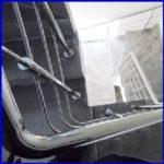 Заказать перила из нержавейки СТ-3, перила, ограждение лестницы-пандуса-балкона-террасы из нержавейки цена в Украине