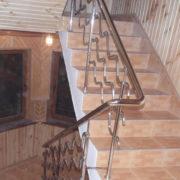 Ограждение для лестницы из нержавейки цена Украина