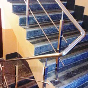 перила из нержавейки, перила на лестницу, перила цена Одесса, перила купить Киев