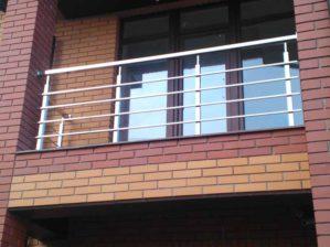 перила на балкон из нержавейки, перила на балкон купить, ограждения из нержавейки цена, ограждение цена за метр погонный
