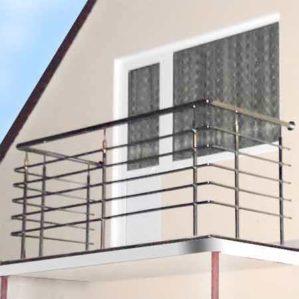 балконные ограждения из нержавейки цена, перила на балкон, перила на балкон цена