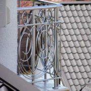 перила на балкон из нержавейки цена на ажурные ковка