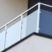 Балконные ограждения из нержавейки
