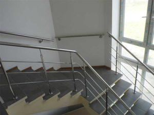 поручень из нержавейки на лестницу, поручни их нержавейки цена, поручень для лестницы купить, поручень на лестницу Киев
