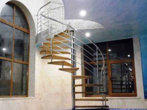 Винтовая лестница, перила, перила цена, лестница
