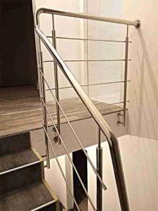 Перила на лестницу Киев, Цены на перила, Перила из нержавейки
