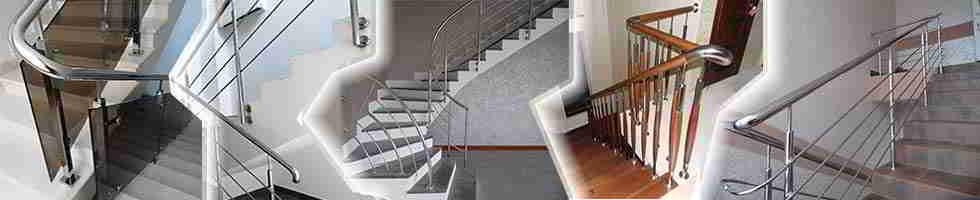 ограждение из нержавейки, ограждение лестницы балкон пандус терраса