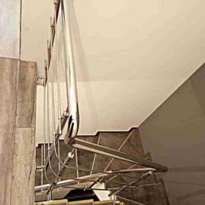 Перила на лестницу Киев, перила из нержстали, перила цена