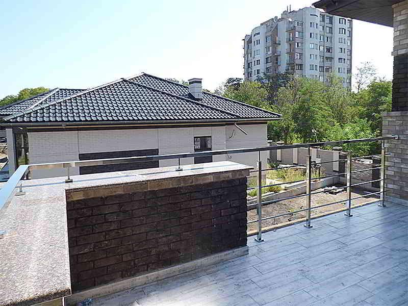 Перила Из Нержавейки Николаев, Перила На Балкон Николаев