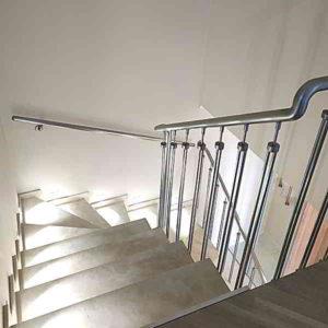Оригинальные перила, Перила на лестницу, Перила из нержавейки