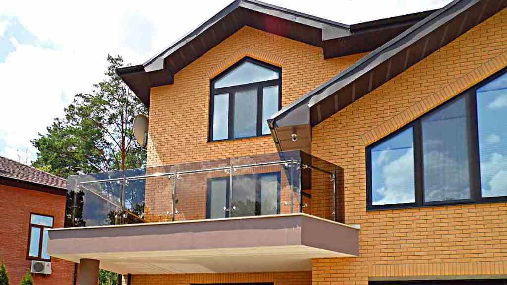 перила, стекло, нержавейка, балкон