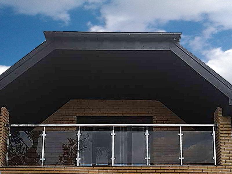 терраса, тераса, балкон, нержавейка стекло, перила на балкон