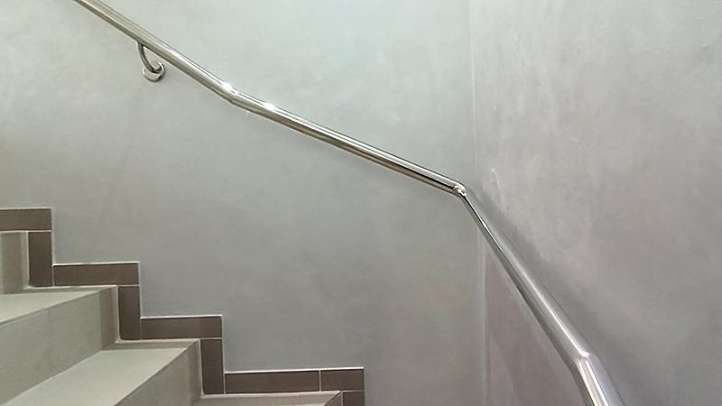 поручні, поручни, поручень на лестницу, нержавейка