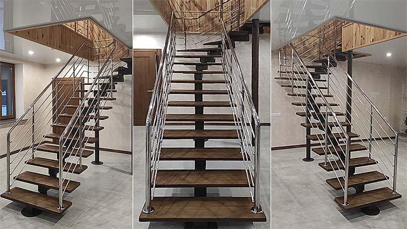 сходи, лестница, сходи з нержавійки, лестница из нержавейки