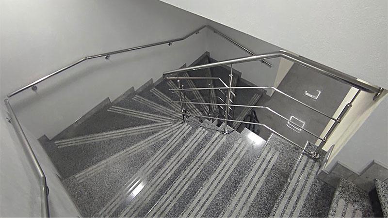 поручень, поручні, поручні з нержавійки, поручень на сходи